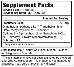 AdderRx ingredients